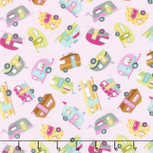 Happy Trails - Mini Campers Yardage