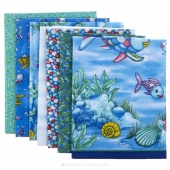 The Rainbow Fish Kit Studio 37 Marcus Fabrics