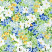 Summer Breeze V - Spring Garden Light Blue Yardage