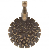 Thread Cutter Pendant - Antique Gold