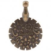 Thread Cutter Pendant - Antique Gold