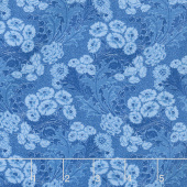Gabrielle - Nouveau Medium Blue Yardage