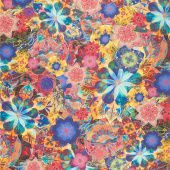 Venice - Flowers Multi Digitally Printed Yardage