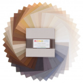 Kona Cotton - Neutrals Palette Charm Pack