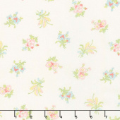 Bramble Cottage - Field Floral Linen Yardage