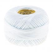 Perle Cotton Thread Size 8 White