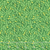 Madison - Petal Texture Green Yardage