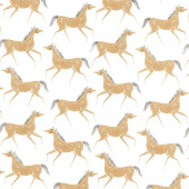 Farm Charm - Pony Party Cloud Yardage