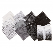 Pen and Ink Fat Quarter Bundle