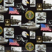 Military - Army Allover Yardage