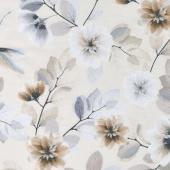 Essence of Pearl - Neutral Tree Blossoms Ecru Yardage