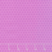 Chelsea - Honeycomb Blender Red Purple Yardage