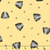 Honey Run - Honey Hive Yellow Yardage