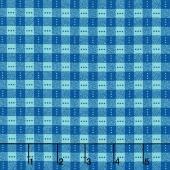 Bree - Check Blue/Aqua Yardage