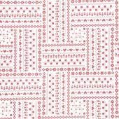 It's the Berries - Cross Stitch White Yardage
