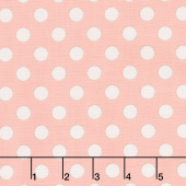 Bliss - Dots Blush Yardage