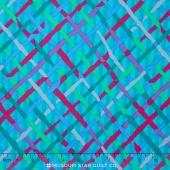 Kaffe Collective - Jewel Mad Plaid Turquoise Yardage