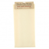 Weeks Dye Works Hand Over Dyed Wool Fat Quarter - Solid Snow Cream