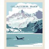 National Parks - National Park Glacier Bay Panel
