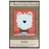 Westie Precut Fused Appliqué Pack