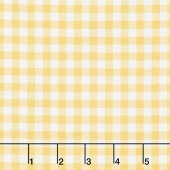 Bake Sale 2 - Gingham Yellow Yardage