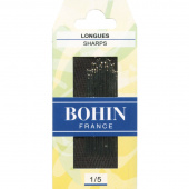 Bohin Sharps Needles - Assorted Sizes 1/5