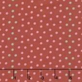 Sweet Blend Prints - Polka Dot Rosemary Yardage