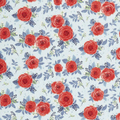 Hedge Rose - Main Aqua Yardage