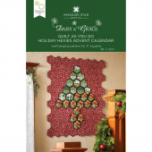 Quilt As You Go Holiday Hexies Advent Calendar Pattern by Missouri Star