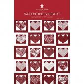 Valentine's Heart Quilt Pattern by Missouri Star
