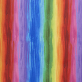 Awaken - Stripe Rainbow Yardage