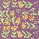 Color Fusion - Daisy Plum Yardage