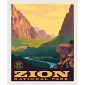 National Parks - Zion Poster Panel
