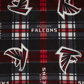 NFL Fleece - Atlanta Falcons Black Yardage