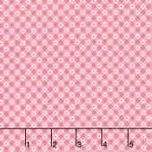 Mon Beau Jardin - Check Pink Yardage