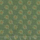 Scrap Happy - Lacey Design Green Yardage