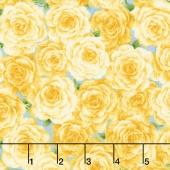 Victoria Gardens - Packed Rose Marigold Yardage