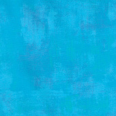 "Grunge - Turquoise 108"" Wide Backing"