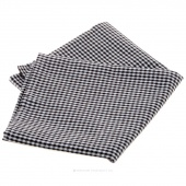 Tea Towel - Black & White Mini Check