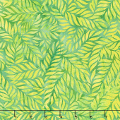 Punch Batiks - Fern Green Apple Yardage