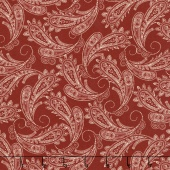 Ranch Hands - Bandana Red Yardage