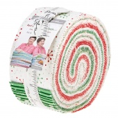 Red Dot Green Dash Jelly Roll