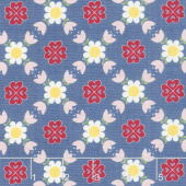 Gretel - Lattice Denim Yardage