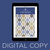 Digital Download - Four Corners Quilt Pattern by Missouri Star