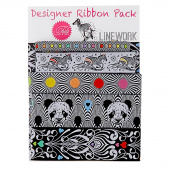 Tula Pink Linework Designer Ribbon Pack