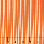 Trick or Treat - Treat Stripes Orange Yardage