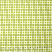 Handmade - Star Quilt Green Yardage