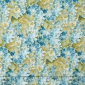 Rainbow Seeds - Hydrangea Blue Yardage