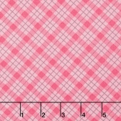 Lily - Plaid Pink Yardage