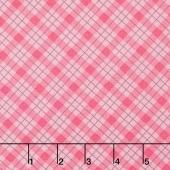 Lily - Plaid Pink Yardage